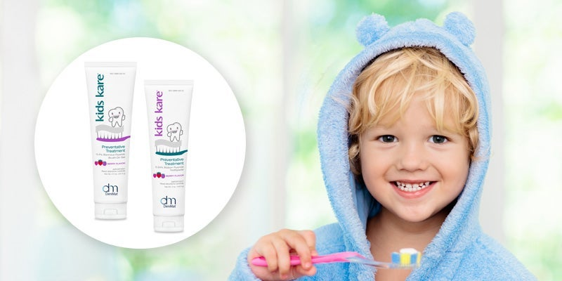 Kids Kare Toothpaste and Gel